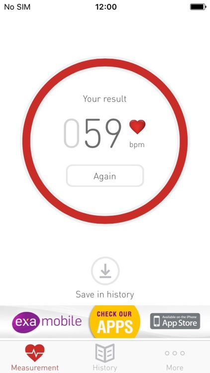 Cardiograph Heart Rate Monitor screenshot-3