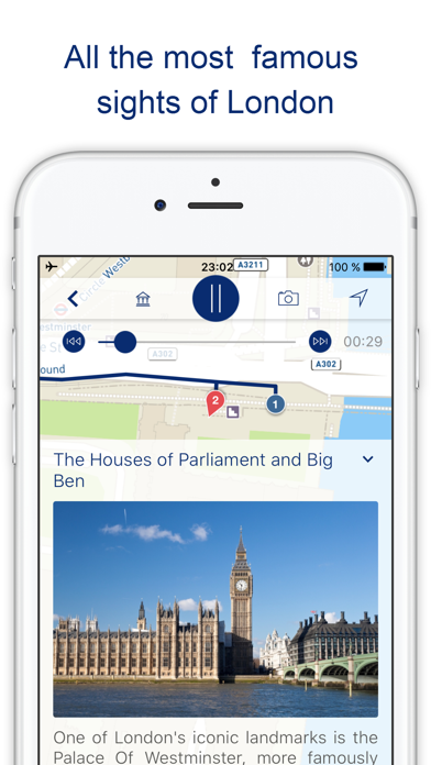London Map With Sights.My London Travel Guide Map With Sights Uk App Price Drops