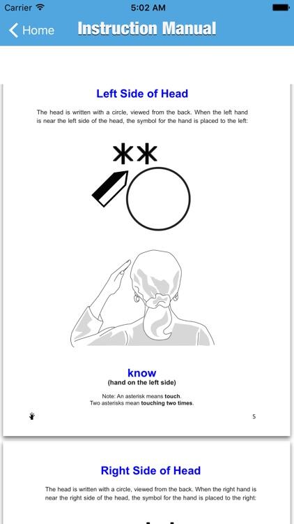 Write Sign Language Dictionary - Offline AmericanSign Language screenshot-3
