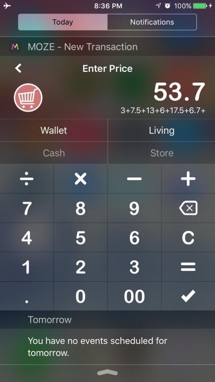 MOZE PRO - Keep track of your money