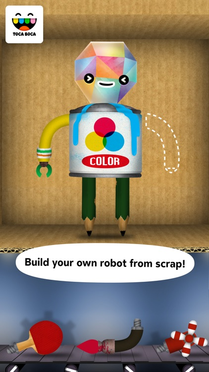 Toca Robot Lab screenshot-0