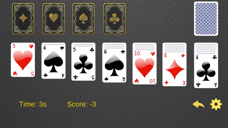 Solitaire Euchre card game - The retro classic style with 52 cards