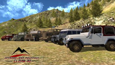 Offroad Jeep mountain climb 3dのおすすめ画像1