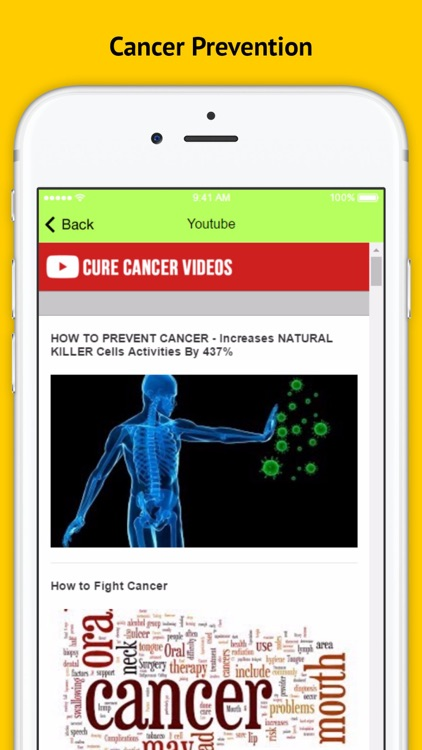 Ways Fight Off Cancer screenshot-3