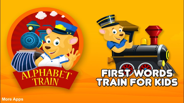 Alphabet Train For Kids - Learn ABCD screenshot-0