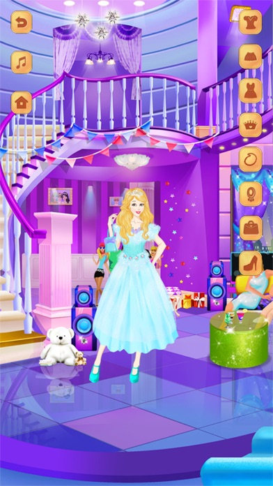 Cute Girl Dress Design: Girl Dress-Up screenshot four