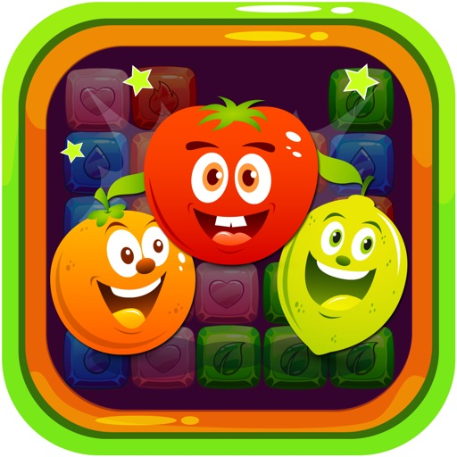 Bubble Viber Fruit Adventure - The Color Block Matching Puzzle iOS App