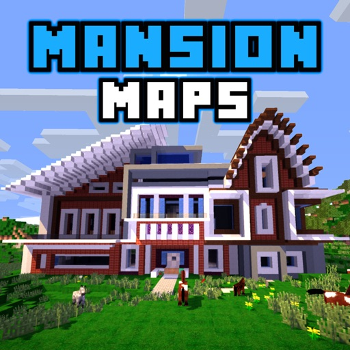 MANSION MAPS For Minecraft PE The Best Maps For Minecraft Pocket - Die besten maps fur minecraft pe