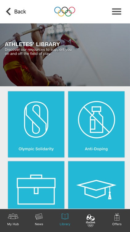 Olympic Athletes' Hub 2016 screenshot-3