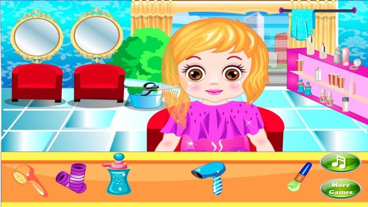 Little Cute Baby Hair Salon screenshot-3