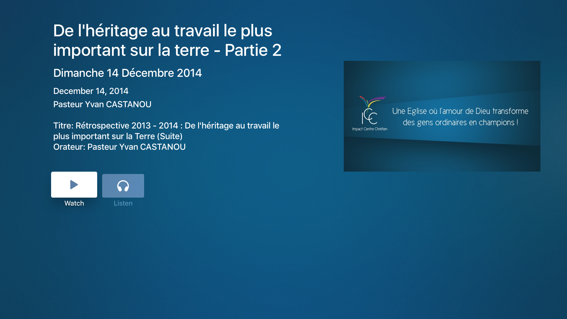 Impact Centre Chrétien screenshot 13