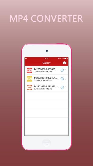MP4 Converter screenshot one