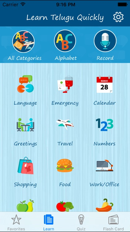 Learn Telugu Quickly - Phrases, Quiz, Flash Card
