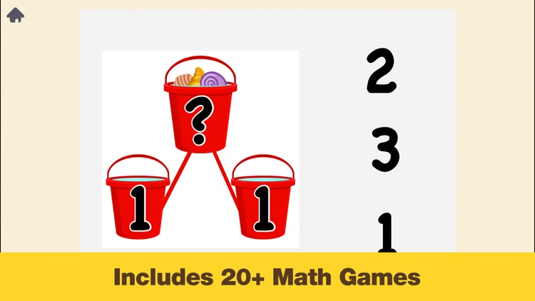 Kindergarten Math - Games for Kids in Pr-K and Preschool Learning First Numbers, Addition, and Subtraction screenshot-3