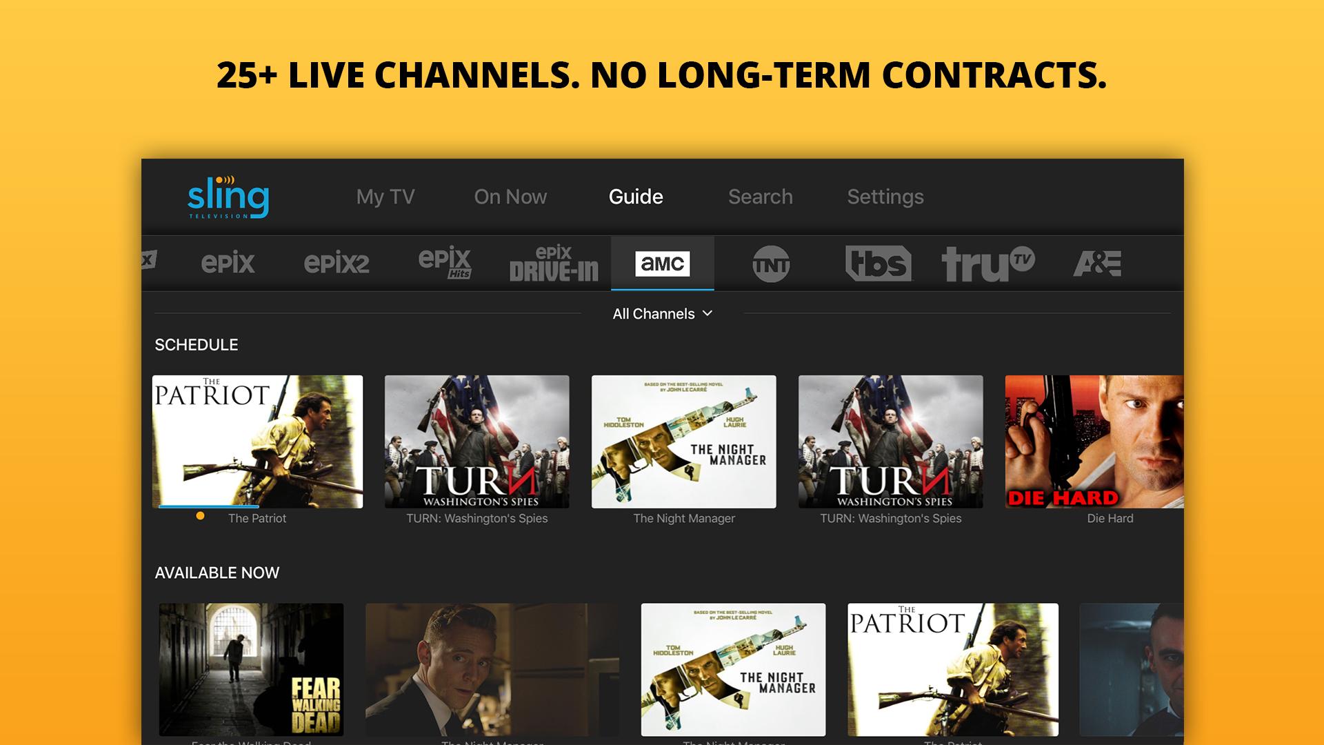 Sling TV: Stream Live TV now screenshot 11