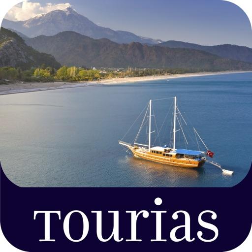Top 100 Travel Guides – TOURIAS Travel Guide by GIATA (free offline maps) iOS App