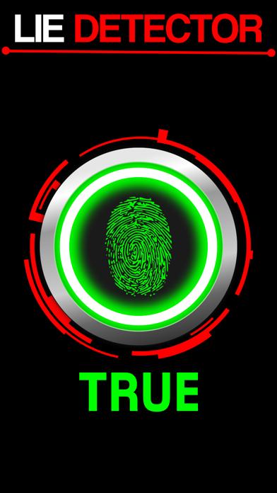 Lie Detector Fingerprint Touch Scanner - Truth or Lying Test HD + screenshot two