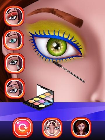 Скачать макияж глаз Салон красоты для девочек  макияж для девочек и детей !