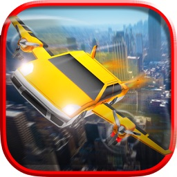 Flying Car Simulator 3D Free Game
