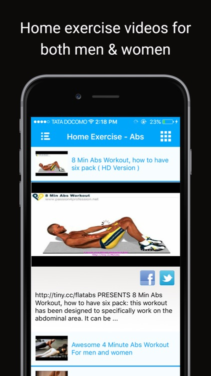 Simple Home Health Exercises: Easy fitness workout screenshot-0