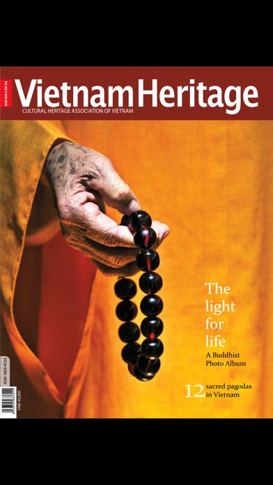 Vietnam Heritage Magazine screenshot one