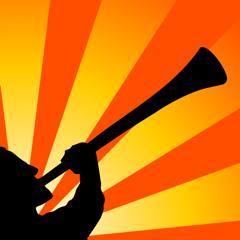 Vuvuzela Man - world's most powerful and personal vuvuzela