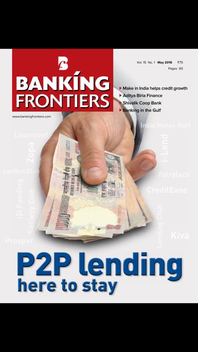 Banking Frontiers screenshot one