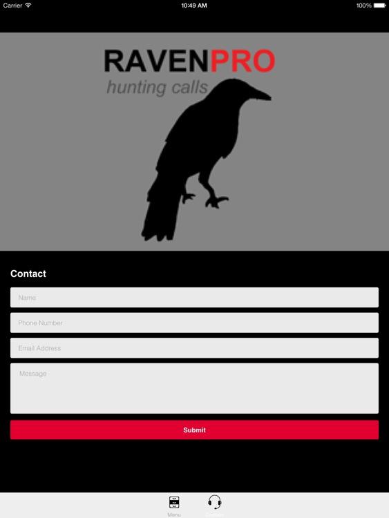 REAL Raven Hunting Calls -- 7 REAL Raven CALLS & Raven Sounds! - Raven e-Caller - BLUETOOTH COMPATIBLE screenshot-3