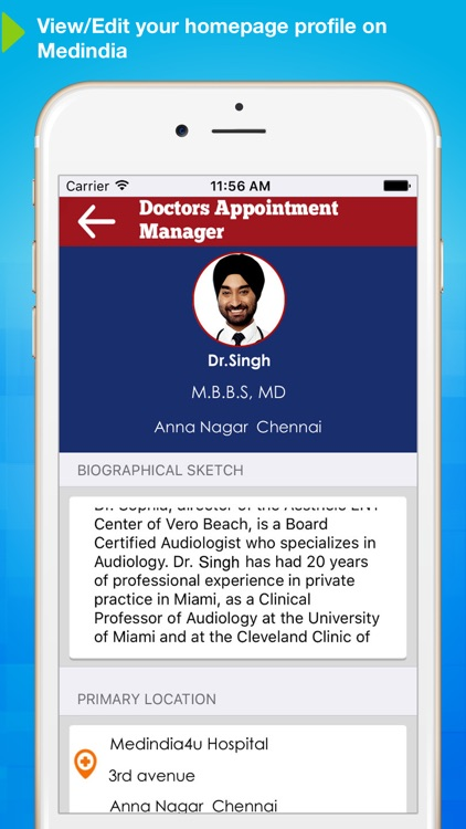 Appointment Manager for Doctors screenshot-4