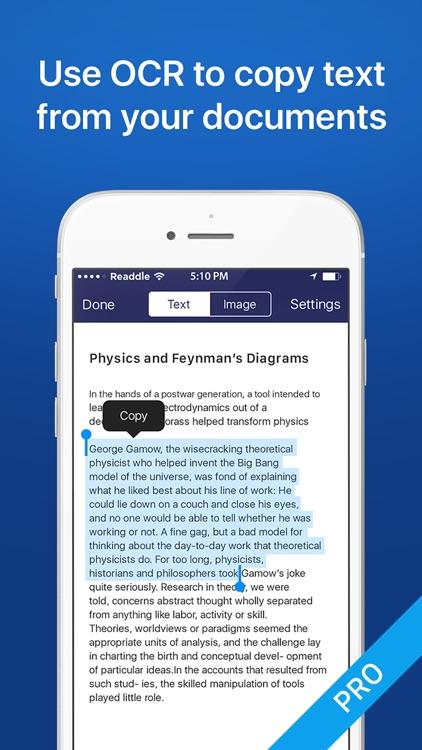 Scanner App - Free PDF scanner for documents app image