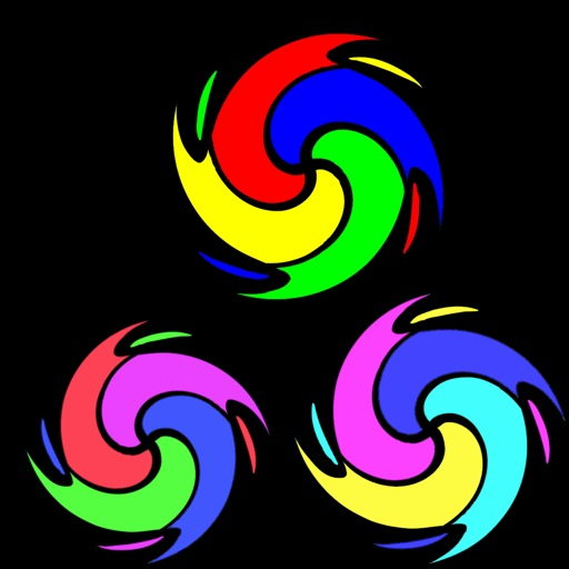 Color Spiral Blitz Cascade - A Crazy And Colorful Adventure