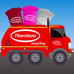 Thorntons Recycling Truck