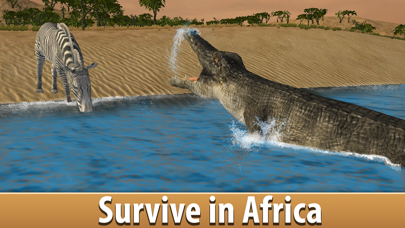 Zebra Simulator 3D - African Horse Survival screenshot two