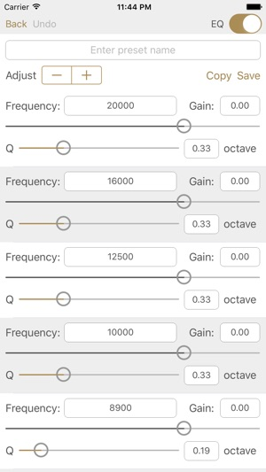 Studio Music Player | 48 band equalizer player Screenshot