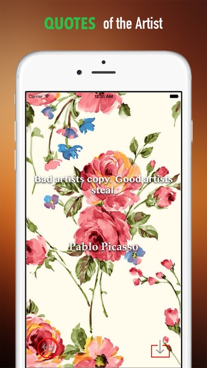 Floral Print Wallpapers HD: Personalise Quotes Backgrounds with Beautiful Patterns