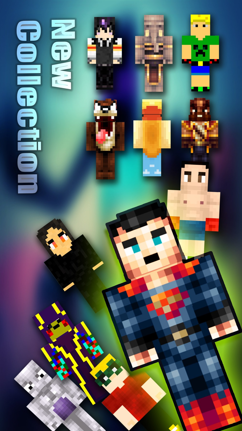 Skin.s Booth for PE – Pixel Texture Simulator & Exporter for Mine.craft Pocket Edition Lite Cheat Codes