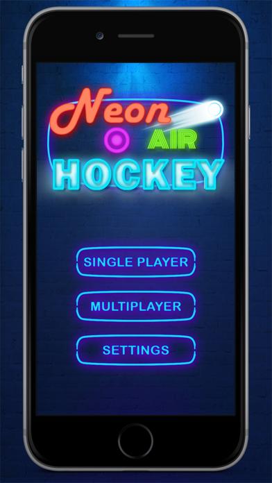 ホッケー 2人  グローアイスホッケー Glow Air Hockey 2 Hockey Freeのおすすめ画像5