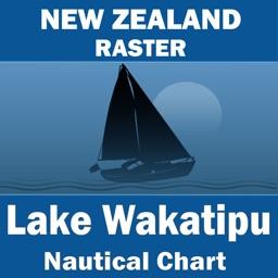 Lake Wakatipu (New Zealand) – Raster Nautical Charts