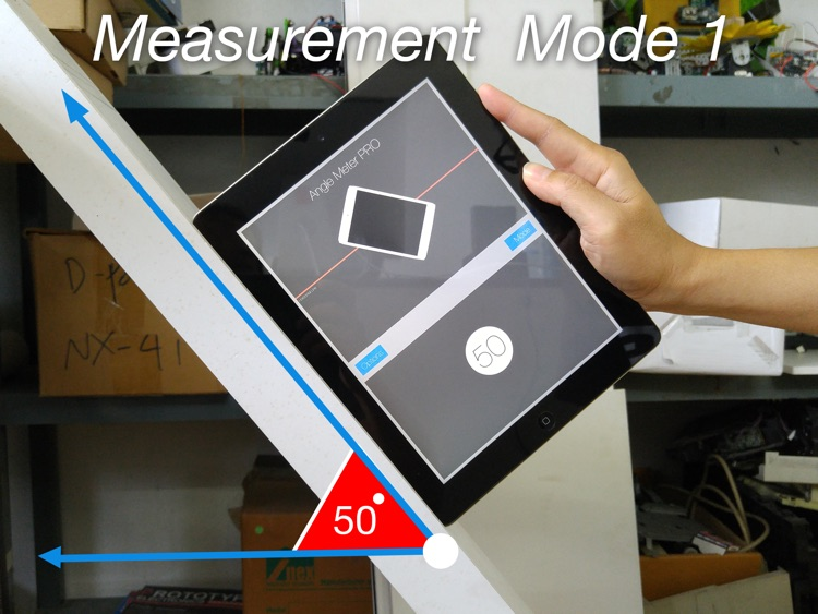 Angle Meter HD FREE for iPad screenshot-0