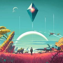 Wallpapers for No Man's Sky Free HD + Emoji Stickers