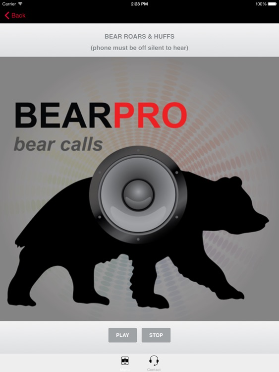 REAL Bear Sounds & Bear Calls for Big Game Hunting--BLUETOOTH COMPATIBLE screenshot-2