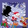 クリスマスキッズゲーム:サンタクロースと雪だるまと私の赤ちゃんや幼児のためのトリッキーパズル