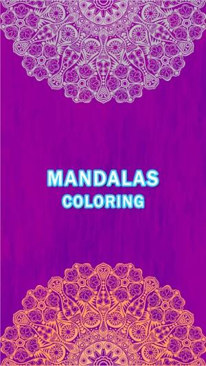 Mandala Coloring Book Paint Games For Adults And Girls Mandela