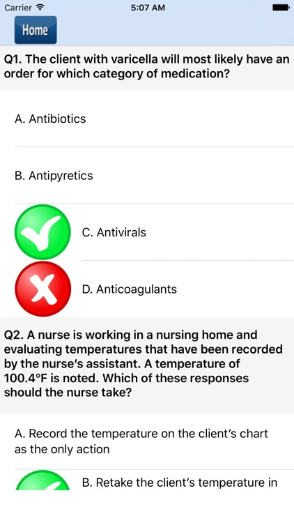 NCLEX-PN Quiz Questions screenshot-4