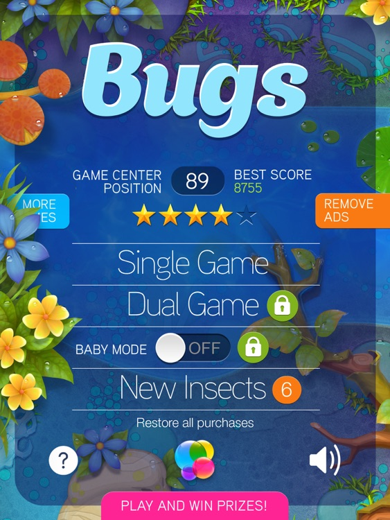 Bugs - Bugs Collector