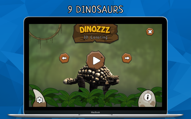DINOZZZ - 3D Coloring MAX - unique, interactive, animated full-3D ...