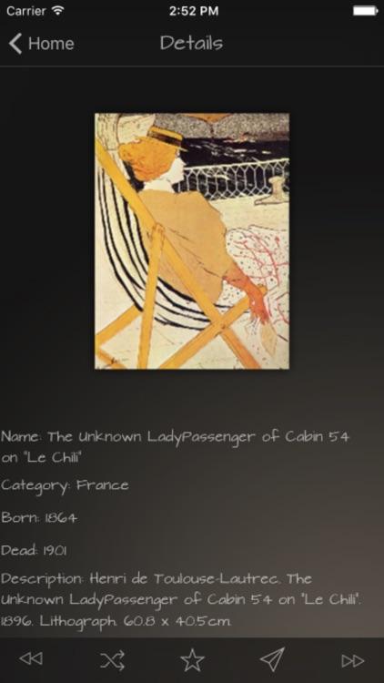 Impressionists Artworks Advisor screenshot-4