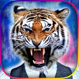 Animal Face Booth Pro - Photo Sticker Blend.er to Morph and Change Yr Skin with Wild Animation Effect
