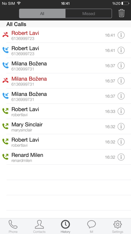 Nteract Mobile Unified  Communications for iPhone