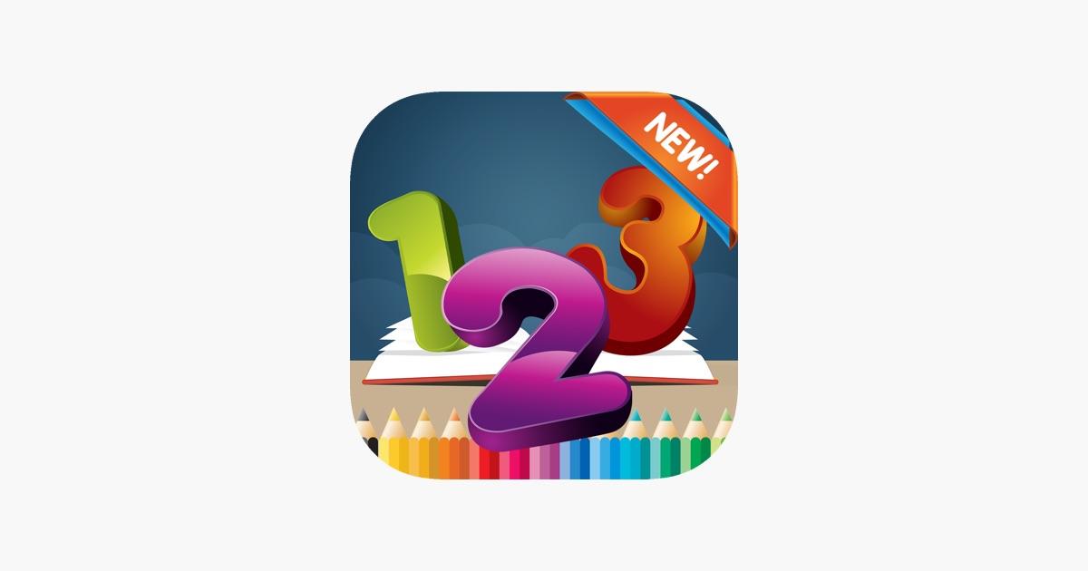 123 Malbuch für Kinder im Alter von 1-10: Spiele kostenlos für ...